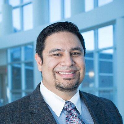 A portrait image of Dr. Vasquez